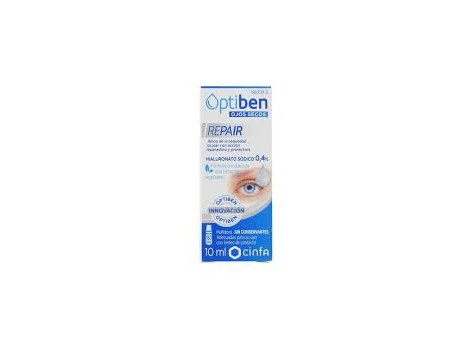 OPTIBEN Ojos Secos. REPAIR 10 ml