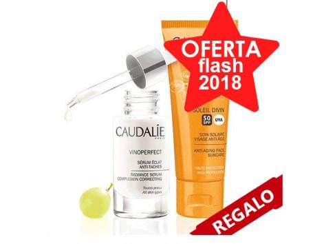 Caudalie Vinoperfect Serum 30ml + Soleil Divin SPF50 Limited Off