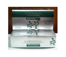 Germinal ACCIÓN PROFUNDA ÁCIDO HIALURÓNICO. 30 ampollas