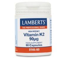 Lamberts vitamin K2 90mcg 60 capsules
