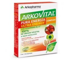 Arkovital Pura Energía Ultra Energy 30 comprimidos