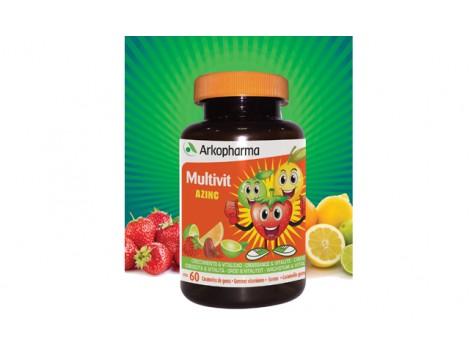 Multivit Growth and Vitality Azinc 60 gummies