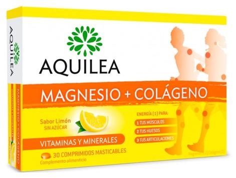 AQUILEA MAGNESIO COLAGENO 30 chewable tablets