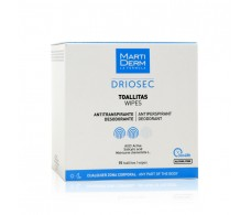 Excessive sweating DRIOSEC Martiderm 15 Wipes