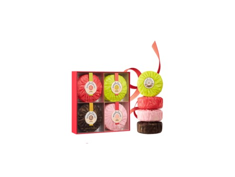 Roger & Gallet Set CHEF FOUR PERFUMED SOAPS 100 GR
