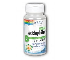 Solaray Acidophilus Plus 30 capsules. Solaray