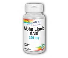 Solaray Alpha Lipoic Acid 250mg. de Solaray. 60 capsulas