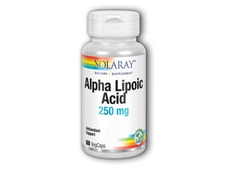 Alpha Lipoic Acid 250mg Solaray. Solaray. 60 capsules