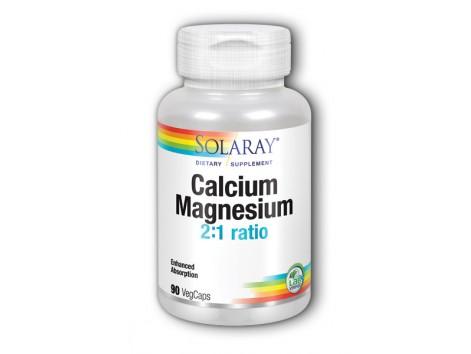 Solaray Calcium and Magnesium - Calcium and Magensio. 90 capsules
