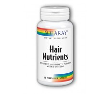 Solaray Hair Nutrients 60 capsules. Solaray