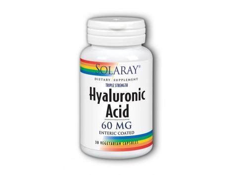 Solaray Hyaluronic Acid - Hyaluronic Acid 60mg. 30 capsules.