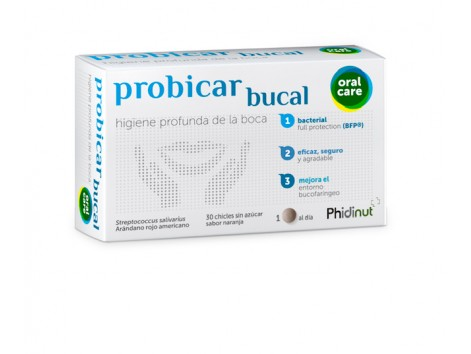Probicar 30 sugarless gum with xylitol