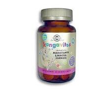 Solgar KANGAVITES MULTI frutas tropicales 60 comprimidos masticables