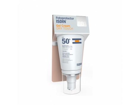 Isdin Facial Gel Cream Dry Touch Sunscreen SPF 50+ 50 ml