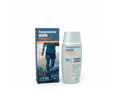 Fusion Body Sunscreen Gel isdin 50 + 100 ml. Ideal Athlete