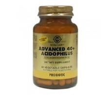 Solgar Advanced Acidophilus 40 + 120 vegetable capsules