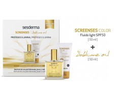 Sesderma Pack SCREENSES Color & SUBLIME oil