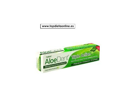 DENTÍFRICO ALOEDENT TRIPLE OPTIMA ACTION 100ml