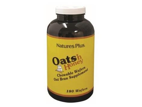 Nature´s Plus OAT & HONEY oat bran 180 chewable tablets