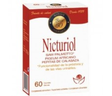 Saw Palmetto Herbecom 60 tablets. NICTURIOL