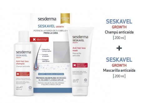 Sesderma pack SESKAVEL GROWTH