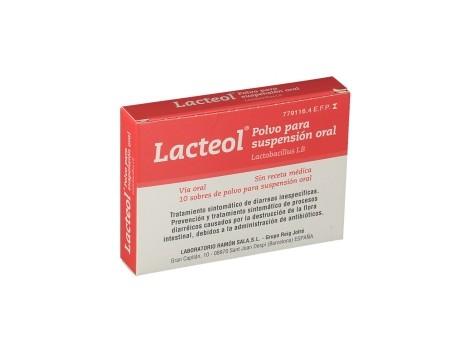 LACTEOL 10 powder envelopes