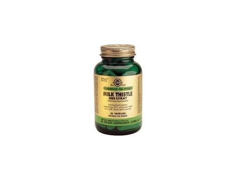 Solgar Milk Thistle - Silymarin 60 capsules