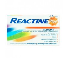 Reactine cetirizine / pseudoephedrine 5 mg / 120 mg extended-release tablets 14