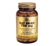 Solgar Oat Bran 750mg. 100 tablets