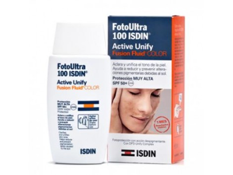 Isdin Fotoprotector Fusion Fluid Active Unify Color SPF 100 50ml