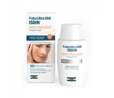 isdin Sunscreen Spot Prevent Fusion Fluid SPF 100+ 50 ml. facial blemishes