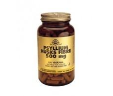 Solgar Psyllium Husks Fibre 500mg. 200 capsules