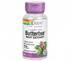 SOLARAY BUTTERBUR (butterbur) 50mg. 60cap.veg.