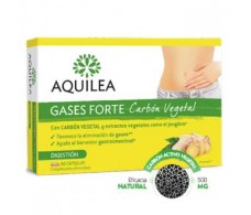 AQUILEA GASES FORTE charcoal 60cap.