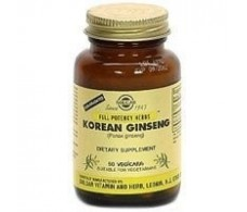 Solgar Korean Ginseng (root) 60 capsules