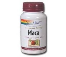 Solaray Maca 100 capsulas de 525 mg