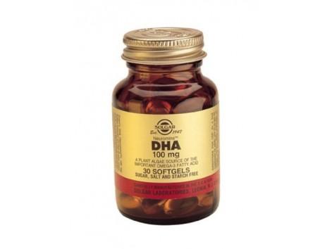 Solgar DHA 100mg. Neuromins 30 capsules
