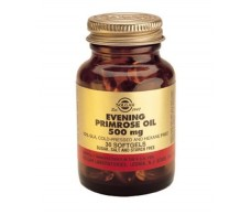 Solgar Aceite de Primula de Rosa 500mg. Primrose Oil. 30 capsula
