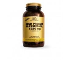 Solgar Flaxseed Oil 1250mg. Flaxseed Oil. 100 capsules