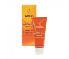 Weleda Hydrating Cream 50ml yellow hands hawthorn