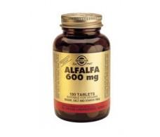 Solgar Alfalfa 600mg. 100 tablets