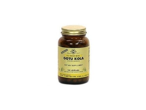 Solgar Gotu Kola - Centella Asiatica. 100 capsules