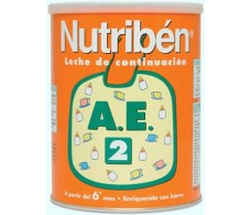 2 Nutriben AE 800gr. Milk antiestreñimiento below.