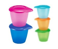 Cover bowl with Nuk Easy Learning. 1 unit