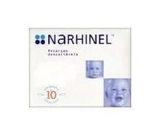 Narhinel recambios del aspirador nasal. 10 recambios