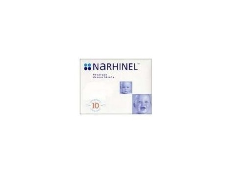 Narhinel Supplies nasal aspirator. 10 parts