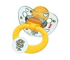 Nuk pacifiers Happy Kids. Size 1. Latex. 2 units