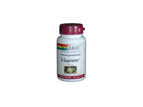 3 Supreme Solaray 200mg. 30 capsules. Indole-3-carbinol