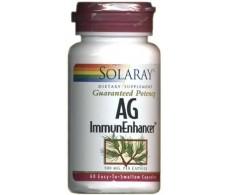 Solaray AG ImmunoEnhacer de Solaray. 60 capsulas