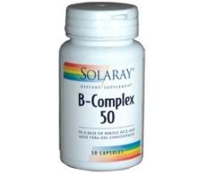Solaray B Complex 50 de Solaray. 50 capsulas